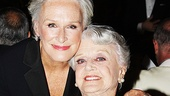 Tony winners unite! A Delicate Balance star Glenn Close and Angela Lansbury catch up.