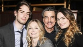 On the Twentieth Century - Opening - 3/15 - Peter Gallagher - wife Paula Wildash