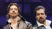 Christian Borle as the Bard & the cast of Something Rotten!