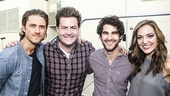 Elsie Fest - 9/15 - Aaron Tveit. Paul Wontorek, Darren Criss and Laura Osnes