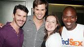 2009 Broadway Bares - Denis Jones - Adrew Rannells - Zuzanna Szadkowski - Titus Burgess
