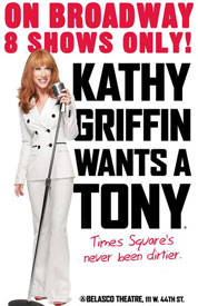 Poster for Kathy Griffin Wants a Tony