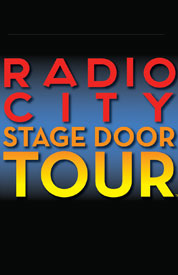 Poster for Radio City Stage Door Tour
