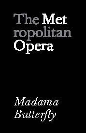 Poster for Metropolitan Opera: Madama Butterfly