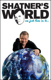 Poster for Shatner&#39;s World: We Just Live In It
