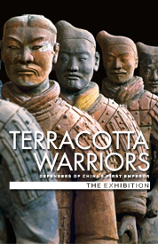 Poster for Terracotta Warriors Exhibition: Defenders of China's First Emperor