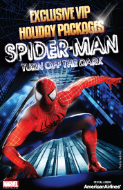 Poster for Spider-Man, Turn Off the Dark - VIP Packages