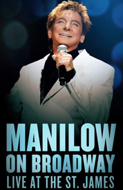 Poster for Manilow on Broadway