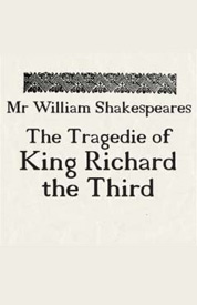 Poster for Richard III