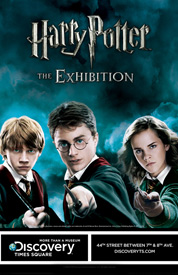 Poster for Harry Potter the Exhibition
