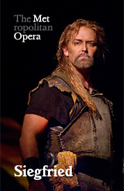 Poster for Metropolitan Opera: Siegfried