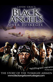 Poster for Black Angels Over Tuskegee