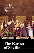 Poster for Metropolitan Opera: The Barber of Seville