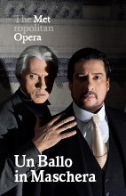 Poster for Metropolitan Opera: Un Ballo in Maschera