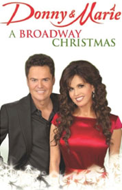 Poster for Donny & Marie: A Broadway Christmas