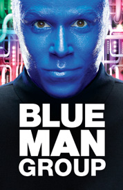 Poster for Blue Man Group