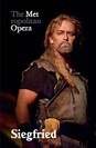 Metropolitan Opera: Siegfried poster
