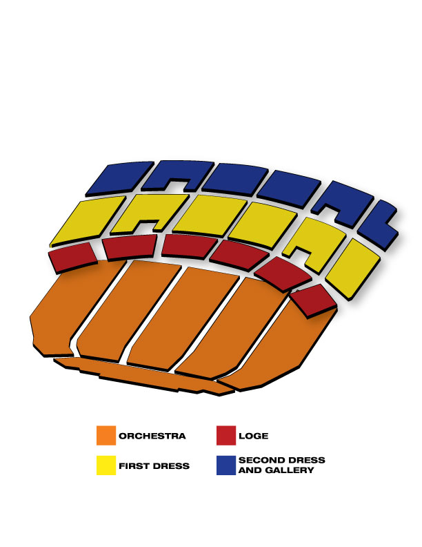 Seatmap for Sister Act