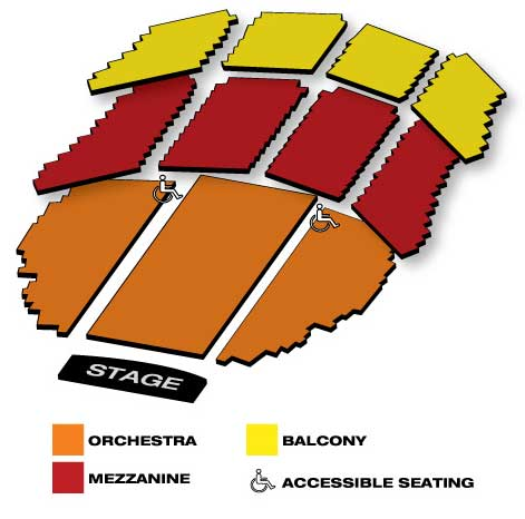 Seatmap for Citi Emerson Colonial Theatre