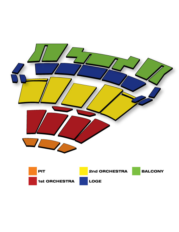 Seatmap for Rock of Ages