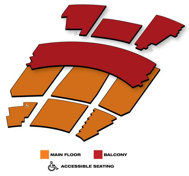 Seatmap for Pantages Theatre