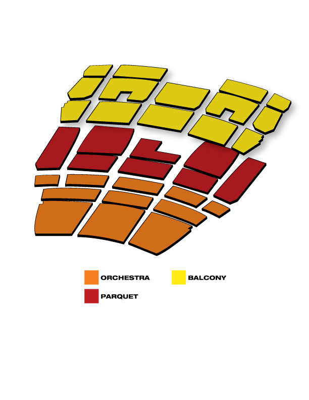 Seatmap for Flashdance