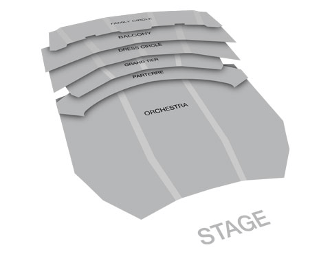 Seatmap for Metropolitan Opera: Aida