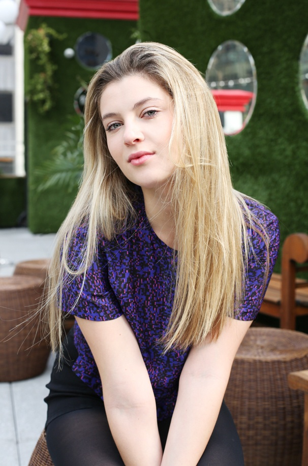 Zoe Levin photographed...