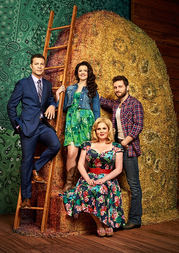 Hot Shot! Check Out Justin Guarini, Rose Hemingway, a Giant Haystack & More in Moonshine: That Hee Haw Musical