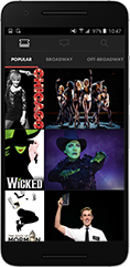 Broadway Android App