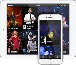 Broadway iPhone and iPad Apps