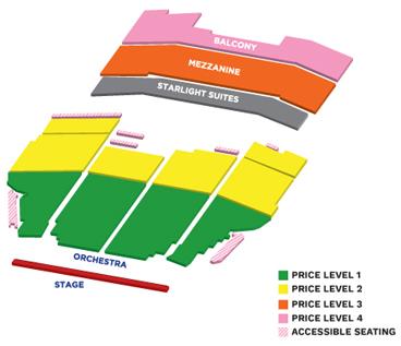 San antonio seating chart