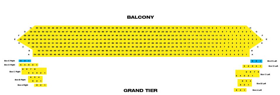 The kentucky center seating chart for Center carrelage jemappes