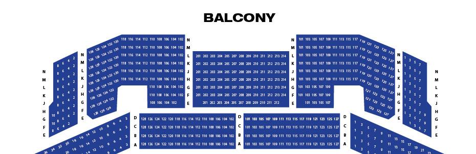 Broward center seating chart