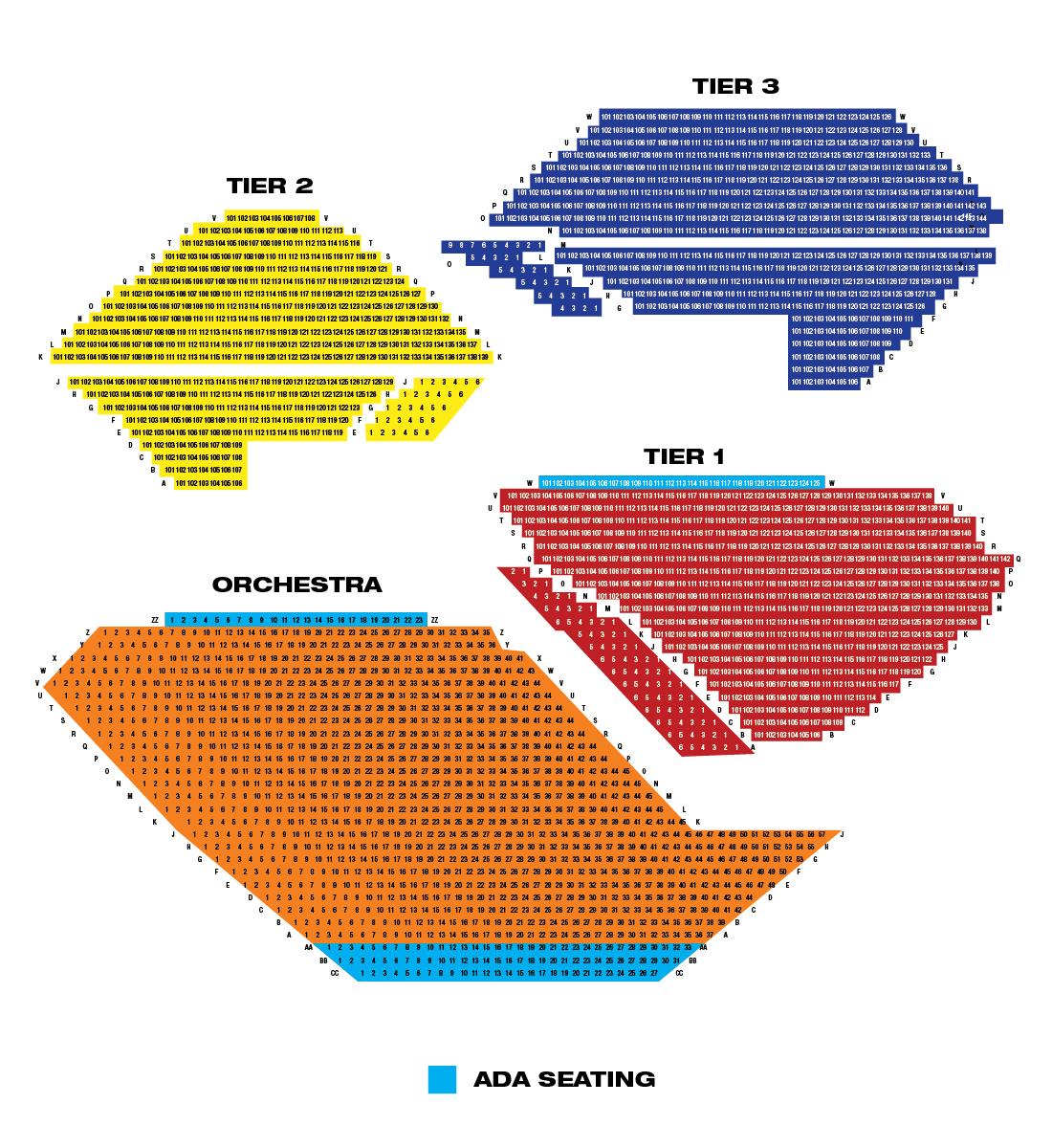 Segerstrom seating chart hobit fullring co