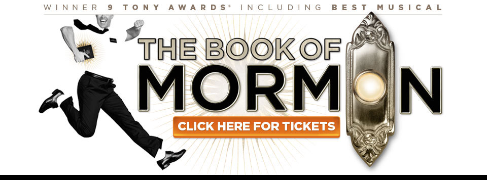 BOOK OF MORMON tickets