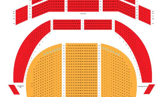 Heinz hall seating chart