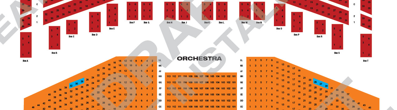 Saenger theatre chart