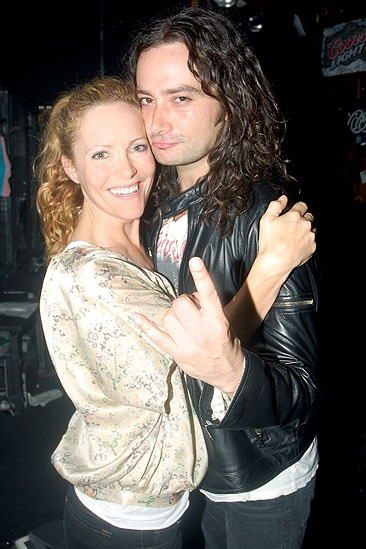 Judd Apatow and Leslie Mann at Rock of Ages - Leslie Mann - Constantine Maroulis