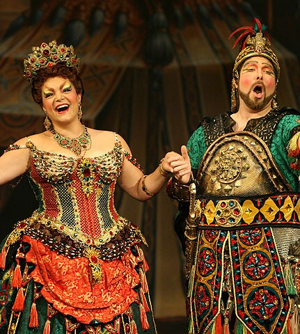The Phantom of the Opera - Show Photos - Patricia Phillips - Evan Harrington