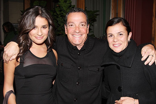 Lea Michele at Rock of Ages - Lea Michele - dad - mom