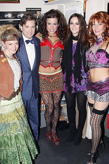 Leighton Meester at Rock of Ages - Leighton Meester - Lauren Molina - Tom Lenk - Katherine Tokarz - Leighton Meester - Becca Tobin