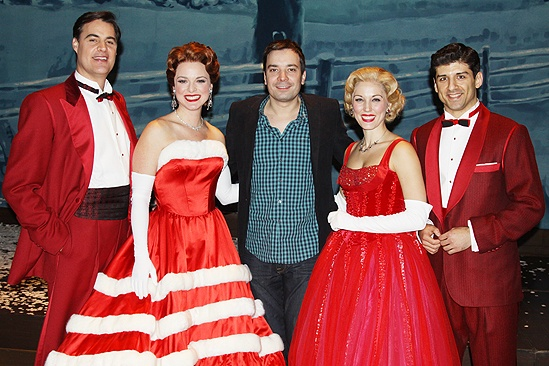 Jimmy Fallon at White Christmas – Jimmy Fallon – James Clow – Melissa Errico – Mara Davi – Tony Yazbeck