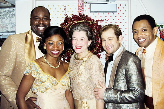 Seasonal Snapshots at Memphis 2009 – J. Bernard Calloway – Montego Glover – Cass Morgan – Chad Kimball – Derrick Baskin (happy)