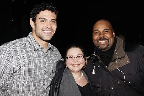 Mark Sanchez at Memphis - Mark Sanchez - Juliana Hannett - James Monroe Iglehart