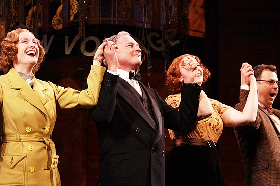 Present Laughter Opening - Lisa Banes - Victor Garber - Harriet Harris - Brooks Ashmanskas