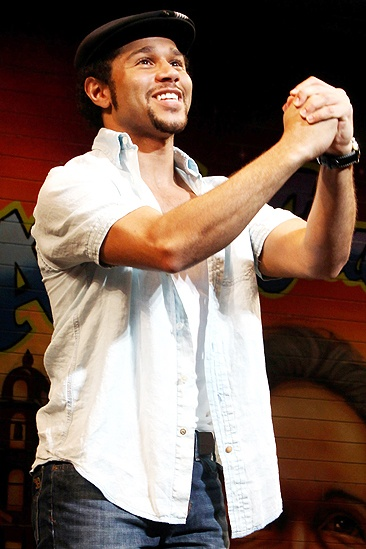 Corbin Bleu opens at In the Heights - Corbin Bleu