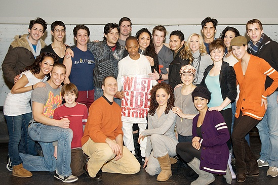 Make a Wish Foundation at West Side Story - Elijah - Karen Olivo