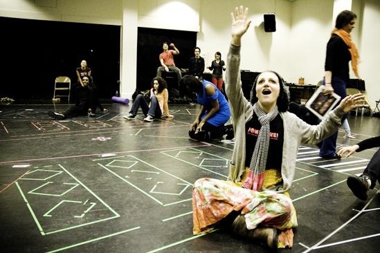 Hair Replacement Cast Rehearsal – Annaleigh Ashford
