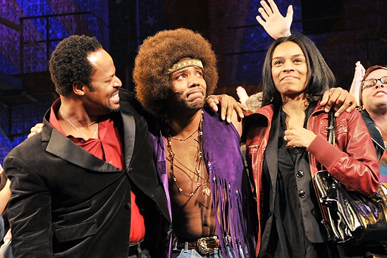 Hair New Cast First Performance – Wallace Smith – Gavin Gregory – Kristin Stennis